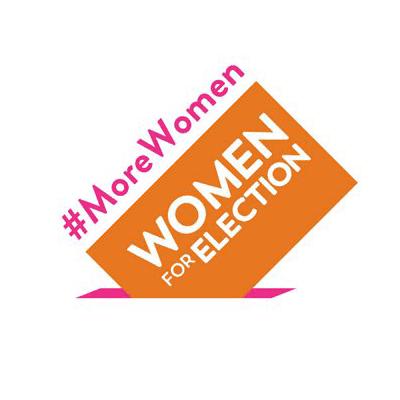 Women for Election Ireland logo