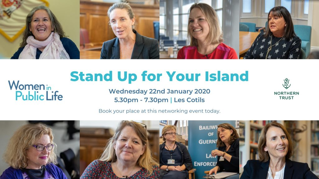 Advert for Stand Up for Your Island event on Jan 22nd