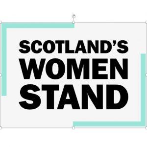 Scotland Women Stand logo