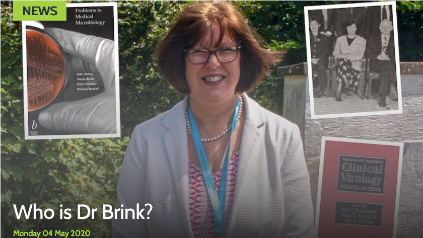 Who is Dr Nicola Brink?