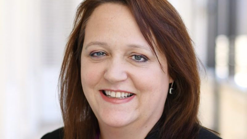 Elaine Gray, new President of the Guernsey Chamber of Commerce
