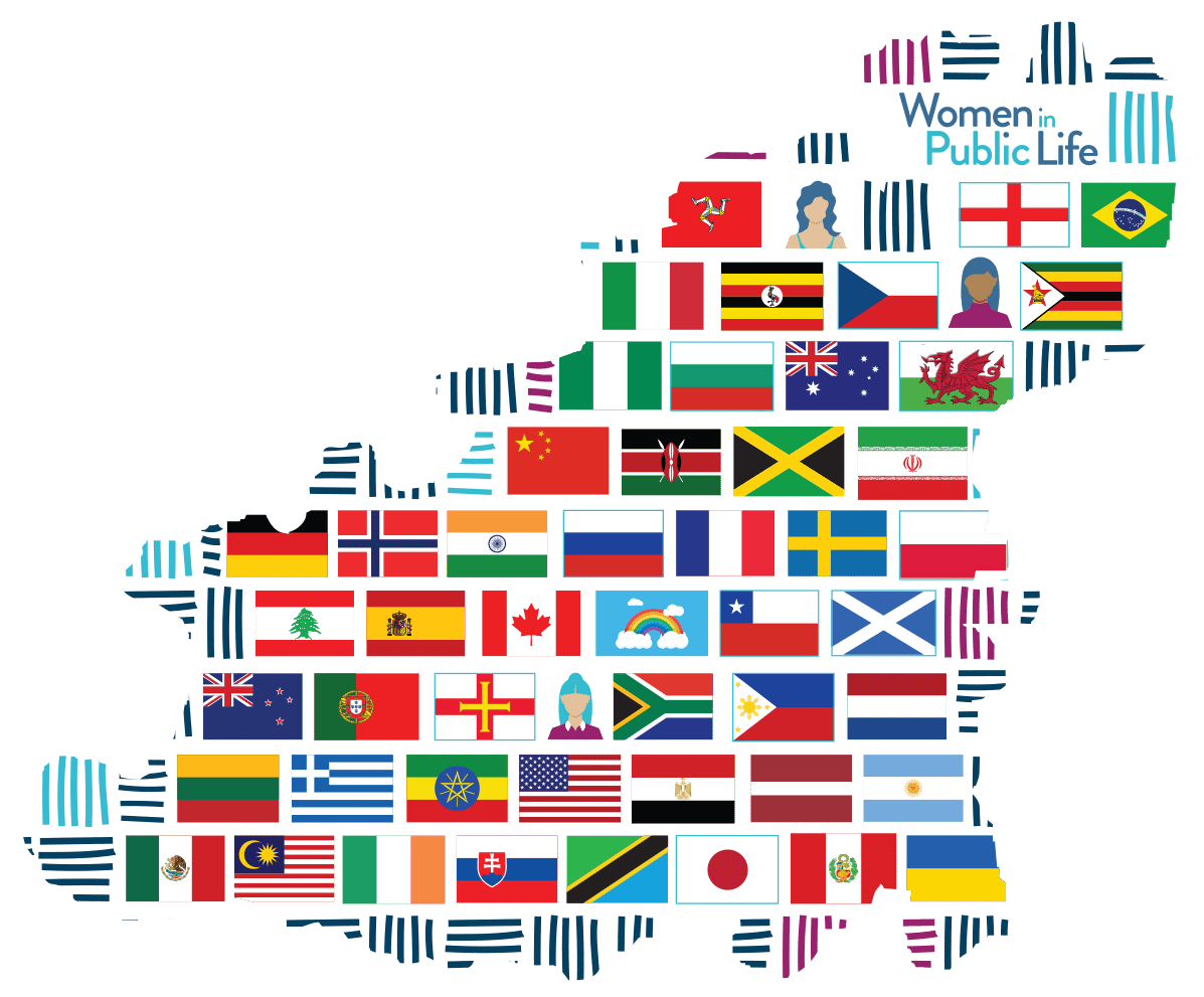 Guernsey map covered with flags. There is a link to an accessible plain text version under the map itself on the main map page.