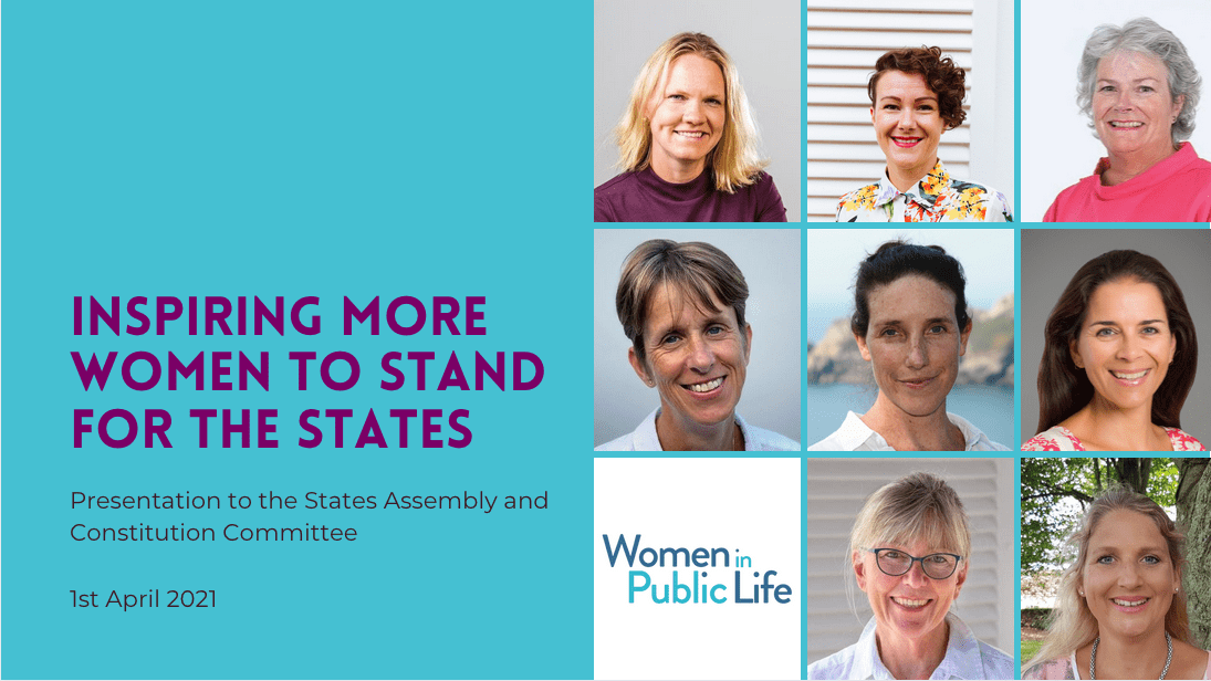 Inspiring women to stand for the States