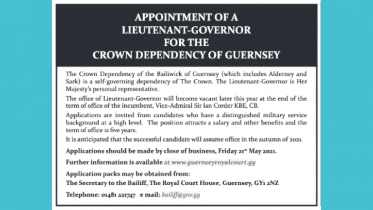 Lieutenant-Governor of Guernsey