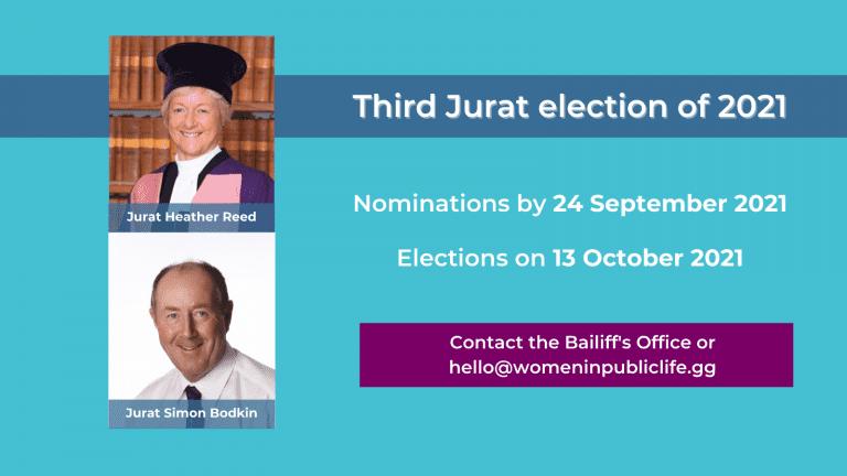 Third Jurat election of 2021